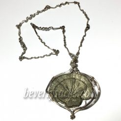 Vicki Thayer Fossil Sterling Pendant1