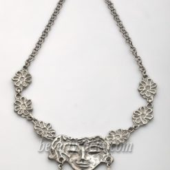 Alfredo Zalce Aztec Sterling Necklace