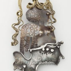 Cathleen McLain Mermaid Brooch