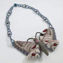 Butterfly Handmade Beaded Necklace