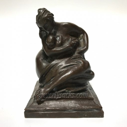 Bronze Sculpture of Mother and Child by Aitken