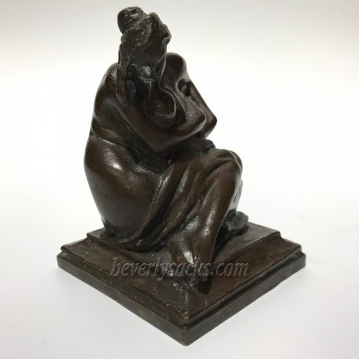 Bronze Sculpture of Mother and Child by Aitken 2
