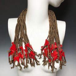 Ports 1961 Multi Strands Silk Necklace