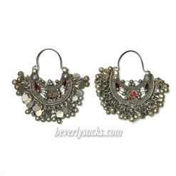 Gypsy Tribal Ethnic Ornament Earrings